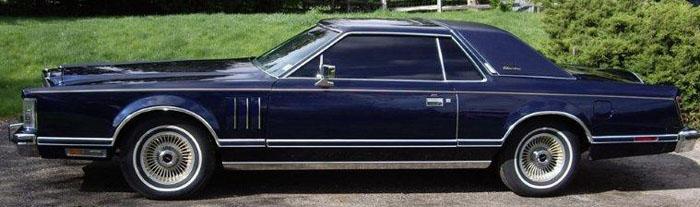 1979 Lincoln Mark V Collectors Series For Sale